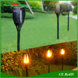 LEDの現実的な通路の庭のトーチランプとの太陽炎の装飾的な照明自動オン/オフ