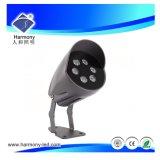 Outdoor paysage étanches IP 66 220V 6W d'éclairage LED Spotlight