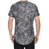 Venda por grosso de lazer para homens camisa impresso gargalo redondo Casual T-shirt