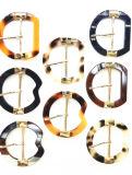 Klassieke hoogwaardige binnendiameter 4 cm, 5 cm kunststof hars gesp Kleding accessoire gesp.