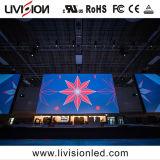 Schermo di visualizzazione dell'interno del LED di alta qualità per la pubblicità e la fase dell'interno P3.9