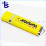 Populaires de disque de mémoire flash USB en plastique pour le chargement de données gratuite