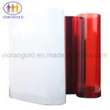 25um/36um/50um/75um/100um/125umテープはさみ金のためのシリコーン油が付いている赤いペットはく離ライナー
