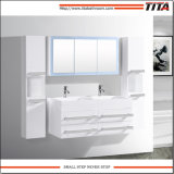 Banho de MDF Branco Brilhante vaidade TM8146b