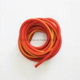 Color y tamaño personalizado ampliable extrusión de tubos de la resistencia de látex