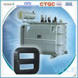 transformador imergido do núcleo de 10kv Wond petróleo selado hermeticamente/transformador potência da distribuição