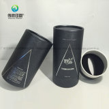 Noir Couleur emballage Priniting boîte ronde