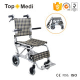Airportwheelchair/Tranist leichter Rollstuhl mit Aluminiumrahmen