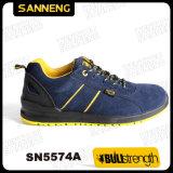 Zapatos de seguridad del deporte con la nueva planta del pie de PU/PU (SN5574)