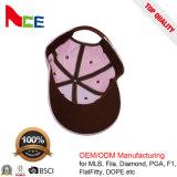 Бейсбольная кепка 100% хлопка Embriodery цветка изготовления ODM Гуанчжоу плоская