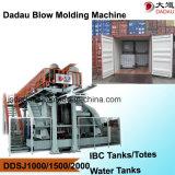Plastik-IBC Becken, Maschine produzierend