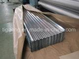 Galvanizado recubierto de zinc de techos/pared de acero corrugado para África hoja