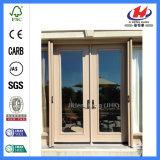 Portas de vidro Bifold moldadas interiores do armário