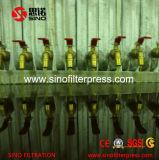 Prix de constructeur en acier de filtre-presse de moulage de chambre automatique de fer