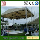 Ферменная конструкция этапа алюминиевого сплава с крышкой крыши PVC
