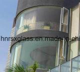 Le verre trempé de sécurité en verre incurvé 6mm refoulées en verre trempé