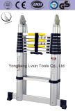 Ladder en aluminium Échelle télescopique avec 5 m de longueur d'extension