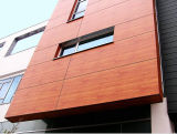 Panneau UV-Résistant de mur extérieur des graines 8mm texturisées colorées