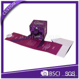 Boîte-cadeau se pliante plate magnétique de carton de qualité/cadre compressible