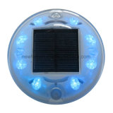 IP68 aluminio 8PCS LED Solar ojos de gato Camino Stud