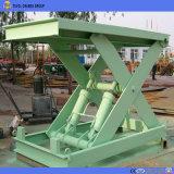 Örtlich festgelegte hydraulische Scissor Aufzug-Tisch, den stationären Schere-Aufzug-Tisch, Mini Scissor Aufzug-Tisch