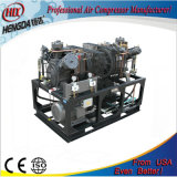 Tres etapas de alta presión del compresor de aire de pistón