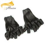 Aliminaの工場価格波状の安く100%のインド人のバージンの毛