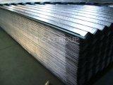 빛나는 물결 모양 아연은 직류 전기를 통한 강철판을 입혀 장을 지붕을 단