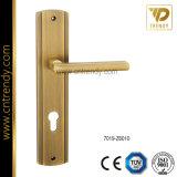 Цинк Zamak крепежные детали мебели ручки замка двери с пластиной (7002-z6066)