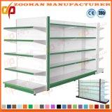 Gelochtes rückseitiges Loch-Panel-Metallbildschirmanzeige-Regal für Supermarkt (Zhs44)