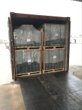 Bois enduit en plastique de WPC de plancher imperméable à l'eau respectueux de l'environnement du Decking WPC