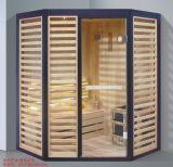 1800mm de Stevige Houten Sauna van de Hoek voor Multi-Person (bij-8888)