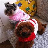 Panciotto di Christmast di due colori per i cani