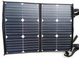 40W Sunpowerの高品質のFoldable適用範囲が広く柔らかい伸縮性がある携帯用太陽携帯電話力パネルの充電器袋