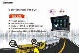 "9 "" sistema de la cámara de 6CH HD DVR Ahd"