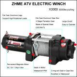 câble 3000lbs tirant le treuil électrique pour ATV/UTV avec C.C 12V