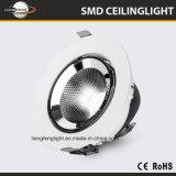 La Chine l'ÉPI 15W-50W Downlight enfoncé par aluminium de moulage mécanique sous pression