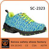 Chaussures uniques urbaines actives et légères de Saicou de sûreté de chaussures pour l'homme Sc-2323