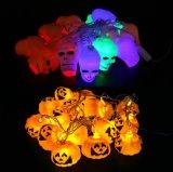 Het LEIDENE van de Pompoen van Halloween Licht van het Koord, het Licht van de Decoratie voor Staaf/Huis/Tuin/Park