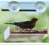 Alimentador automático de acrílico plástico al por mayor del pájaro
