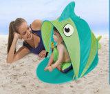 En forma de pez de dibujos animados de plegado personalizado Pop up Baby Kids Tienda Playa