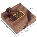 ورقيّة شوكولاطة صنع وفقا لطلب الزّبون صندوق مع حجم