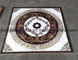 Azulejos de suelo amarillentos del diseño de la alfombra del color