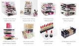 Glam Schönheits-Eitelkeits-kosmetische Acrylsauerfälle mit Firmenzeichen