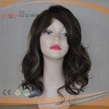 Parrucca piena del merletto dei capelli umani di due colori