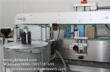 Machine à étiquettes adhésive en plastique de papier de bouteille en verre pour avant et arrière