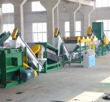 Riga di lavaggio della macchina della Bottles Van Can Recycling del PE