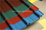 Rolo de cobertura do telhado que dá forma à maquinaria