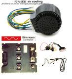 72V 10kw gaat de Lucht Gekoelde Motor BLDC voor Elektrische Auto, Motorfiets, Buggies, Boot, Karren