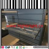 Scaffalatura perforata della gondola di vendita al dettaglio del comitato posteriore della strumentazione del supermercato